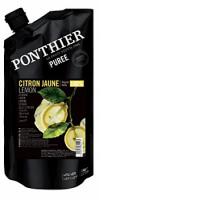 Пюре Ponthier Лимон желтый охлажденное (дойпак)