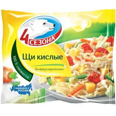 Смесь овощная 4 Сезона Щи кислые быстрозамороженная