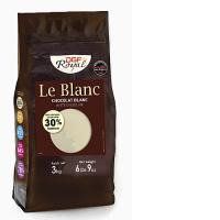 Шоколад DGF Royal белый 30% Le Blanc таблетки
