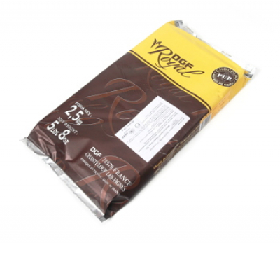 Шоколад DGF Royal черный 72% блок