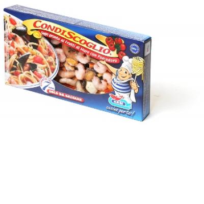 Коктейль морской ARBI (skinpack) с соусом и томатами