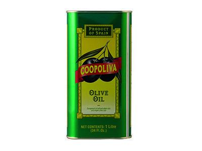 Оливковое масло 'Coopoliva' 100 % Pure