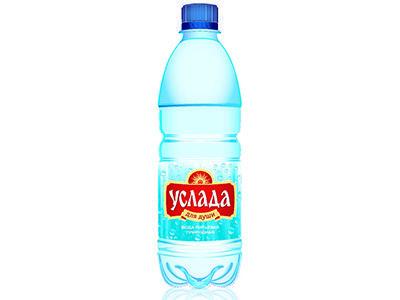 Вода питьевая 'Услада для души' природная негазированная