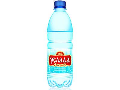Вода питьевая 'Услада для души' природная газированная