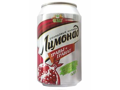 Лимонад солодовый напиток