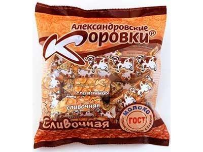 Конфеты 'Александровская коровка' Сливочная