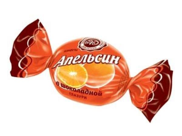 Конфеты Микаелло Апельсин в шоколадной глазури