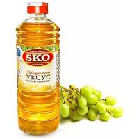 Уксус SKO натуральный белый винный, пэт/б