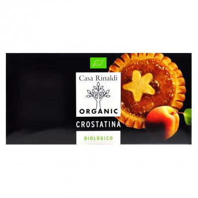 Печенье Casa Rinaldi Кростатине с абрикосом (коробка) BIO