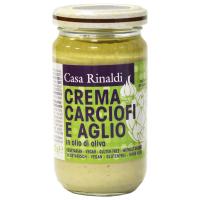 Крем-Паста Casa Rinaldi из артишоков, чеснока в оливковом масле