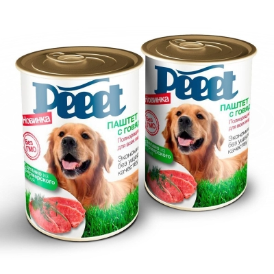 Корм консервированный для собак