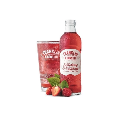 Напиток 'Franklin & Sons' лесная малина и шотландская клубника