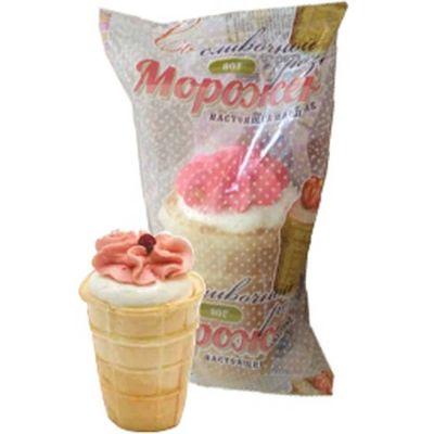 Мороженое Ногинское 'Розочка' в вафельном стаканчике