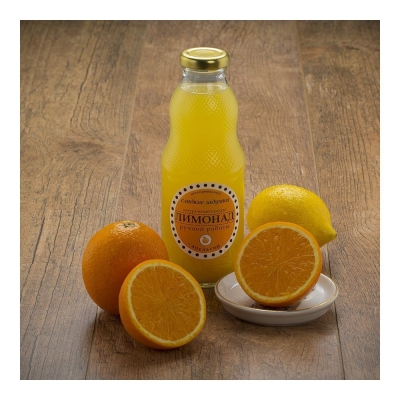 Лимонад 'Сладкие задумки' апельсин