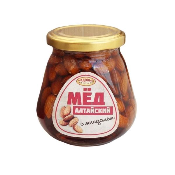 Алтайский мёд с миндалем