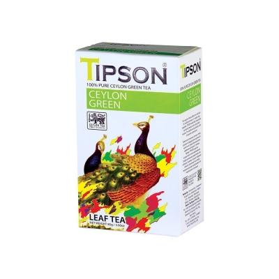 Чай 'Tipson' Ceylon Green зеленый