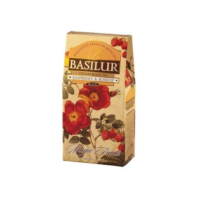 Чай 'Basilur' ВОЛШЕБНЫЕ ФРУКТЫ Малина и шиповник