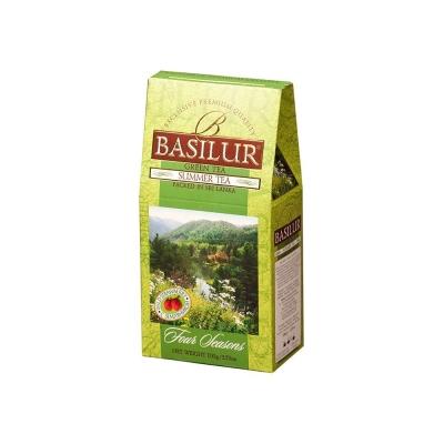 Чай 'Basilur' ВРЕМЕНА ГОДА Летний (земляника) SUMMER TEA