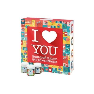Набор конфет Вкусная помощь 'Я люблю тебя'