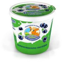 Мороженое Коровка из Кореновки Йогуртное мороженое с черной смородиной 6%