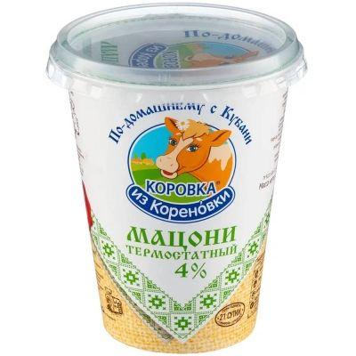Мацони Коровка из Кореновки термостатный 4%