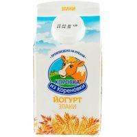 Йогурт Коровка из Кореновки злаки 2%