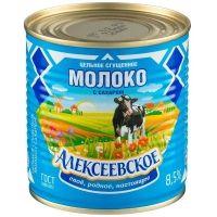 Молоко цельное сгущенное Алексеевское с сахаром 8,5%