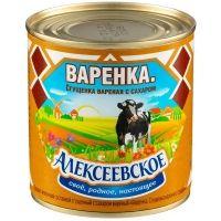 Сгущенка вареная Алексеевское с сахаром 8,5%
