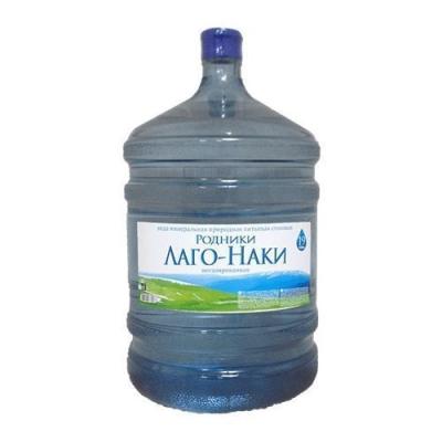 Вода минеральная природная питьевая столовая