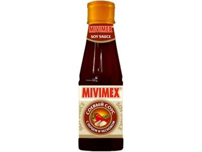 Соус 'Mivimex' соевый с перцем и чесноком