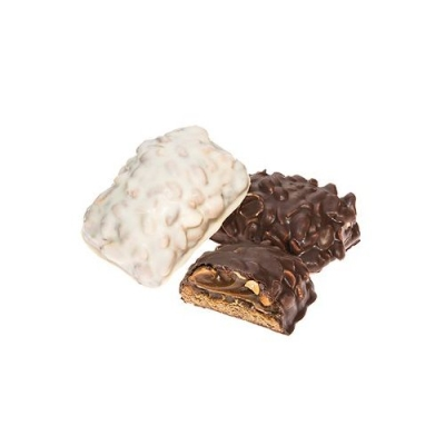 Печенье 'Бальбоа' с арахисом в тёмной глазури