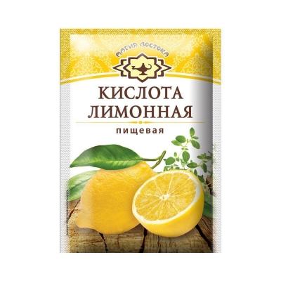 Кислота лимонная 'Магия Востока' пищевая Люкс
