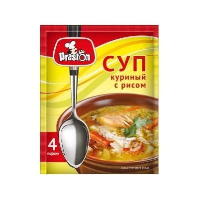 Суп Куриный 'Preston' с рисом