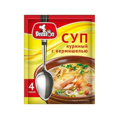 Суп Куриный 'Preston' с вермишелью