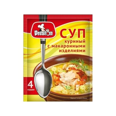 Суп Куриный 'Preston' с макаронными изделиями