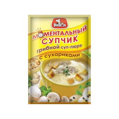Суп-пюре 'Preston' Грибной с сухариками