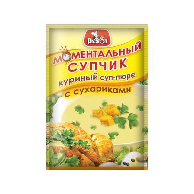 Суп-пюре 'Preston' Куриный с сухариками