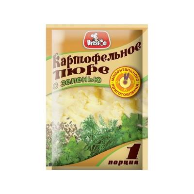 Пюре картофельное 'Preston'   с зеленью