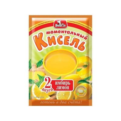 Кисель 'Preston' имбирный с ароматом лимона