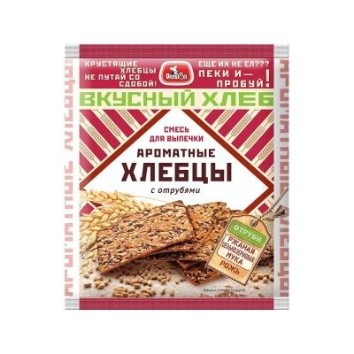 Смесь для выпечки 'Preston' Хлебцы ароматные с отрубями