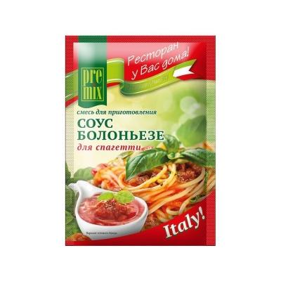 Смесь для приготовления 'PreMix' соус Болоньезе для спагетти