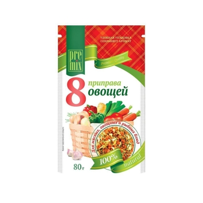 Приправа 'PreMix' 8 овощей