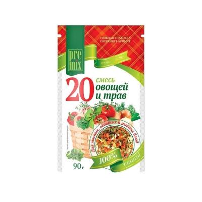 Смесь 'PreMix' 20 овощей и трав
