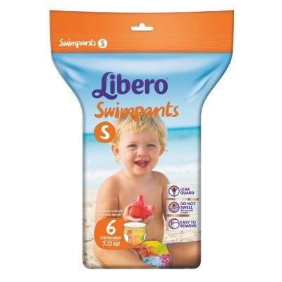 Подгузники-трусики Либеро Swimpants для плавания (7-12кг) 6шт
