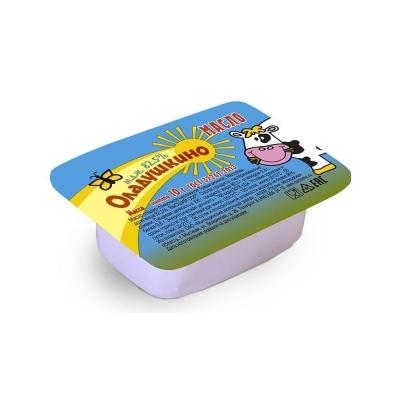 Масло сладко-сливочное несоленое 'Оладушкино' традиционное 82,5%