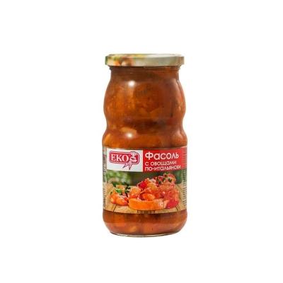 Фасоль 'ЕКО' с овощами по итальянски