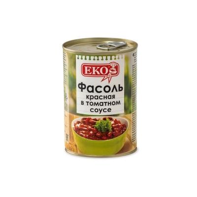 Фасоль 'ЕКО' красная в томатном соусе