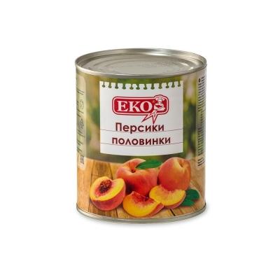 Персики 'ЕКО' половинки