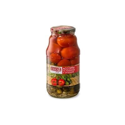 Ассорти из томатов и огурцов 'ЕКО'