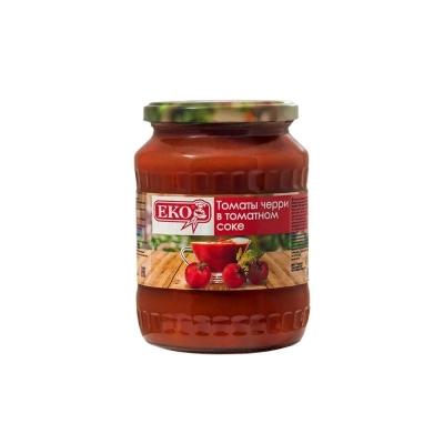 Томаты черри 'ЕКО' в томатном соке